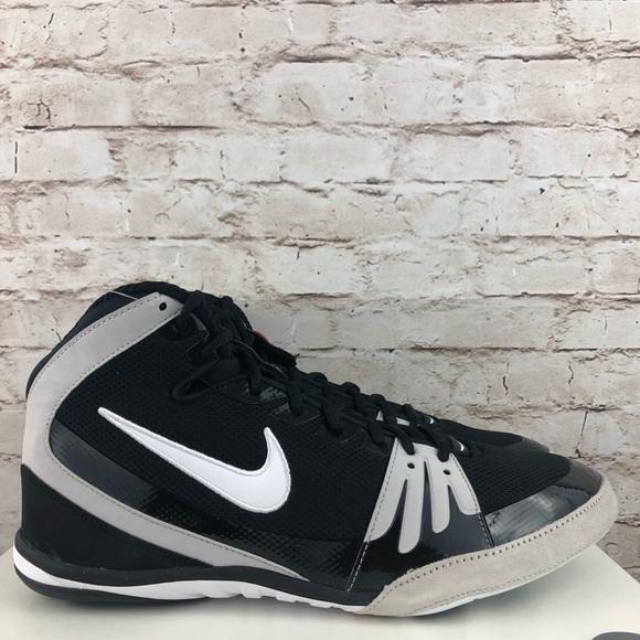 quality design cc366 bdd71 New Nike Freek Men s Wrestling Shoes Black